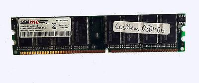 1 Stück Speicher 1GByte DDR1 400.CL2.5 extrememory EXME01G-DD1N-400D25-E1-A