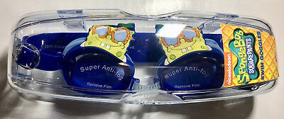 SANRIO  swimming goggles SPONGE BOB Glasses super anti fog with hard case INC