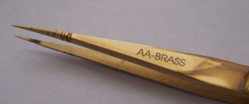 Watchmakers Brass Tweezer Style AA New Made In Italy