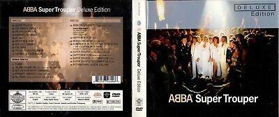 Abba DELUXE EDITION CD + DVD REISSUE Super Trouper