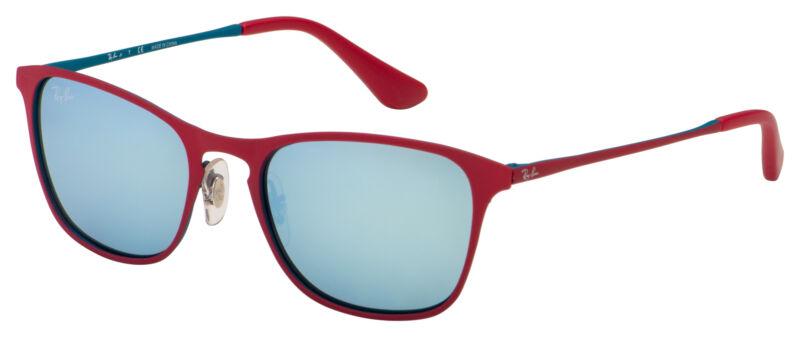Ray-Ban Junior Sunglasses RJ 9539S 256/30 48 Bordeaux | Silver Mirror Lens