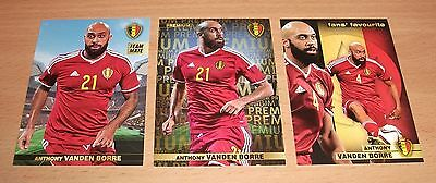 PANINI CARREFOUR LOT 13 43 129/180 BELGIAN RED DEVILS TOUS ENSEMBLE VANDEN BORRE