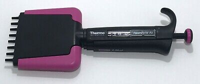 Thermo Finn F2 8 Channel Multichannel Pipette 0.5-10l Cleaned Calibrated