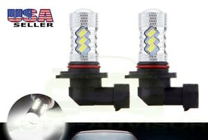 HONDA FOURTRAX FOREMAN HIGH POWER 80W HEADLIGHT LED LIGHT BULBS 6K WHITE 1500LM
