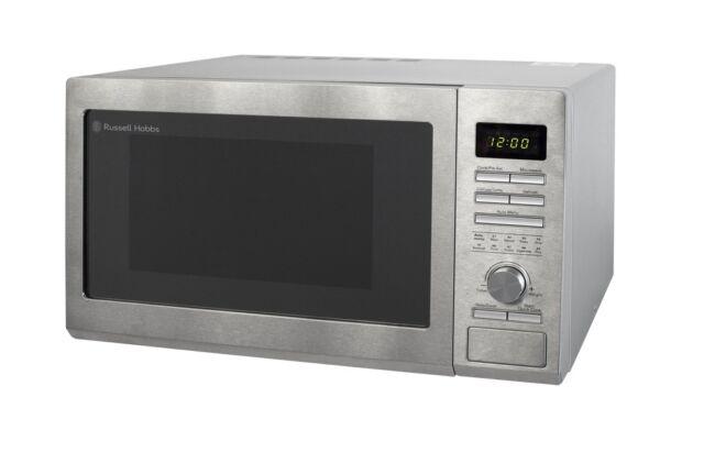 Rus Hobbs 30 Litre Stainless Steel Digital Combination Microwave Rhm3002