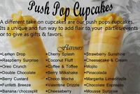 Custom Cakes, Cupcakes & Push Pop Cupcakes