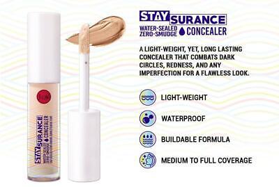 J.Cat Beauty, Staysurance, Water-Sealed Zero-Smudge Face Concealer Waterproof