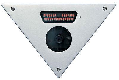 600TVL Elevator/Corner Mount IR Color Camera w/Audio -160° Ultra Wide Angle - Color Corner Mount Camera