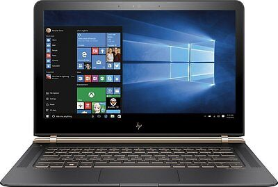 "HP Spectre 13.3"" 13-V011DX Intel i7 3.1GHz 8GB Ram 256GB SSD FHD IPS Windows 10"