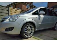 Vauxhall zafira 1.8 elite swap van or another 7 seater