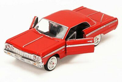 1964 Chevy Impala, Red - Showcasts 73259 - 1/24 Scale Diecast Model Car