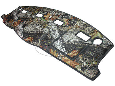 NEW Mossy Oak Camouflage Tailored Dash Mat Cover / Fits: 06-08 DODGE RAM TRUCK