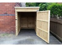 Mobility Scooter Sheds For Sale, Made To Order 5ft x 4ft £210.00