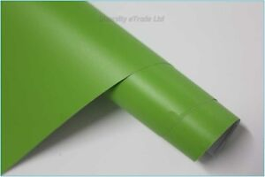 MATTE FINISH VINYL CAR WRAP IN VARIOUS COLOURS AND SIZES - AIR BUBBLE FREE