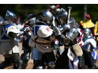 Women team for Medieval Combat (knight battle sport)