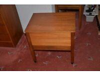 Teak craft box. Very good condition