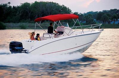 SEMI-CUSTOM BOAT COVER FOR WELLCRAFT 190 FISHERMAN CC BOW RAIL O/B - Fisherman Custom Boat Cover