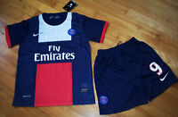 Jersey soccer avec Short PARIS SAINT GERMAIN 2014 - CAVANI - KID