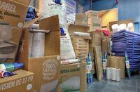 Boite carton déménagement,5700 d'iberville Montréal.