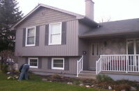 SEMI RETIRED,,,,, NO TAX ..!! Siding and Window installer  !