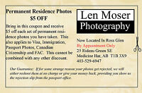 Permanent Residence Photos $5 Off Coupon