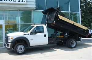 2016 Ford F-550 4x4 diesel with 12 ft steel dump