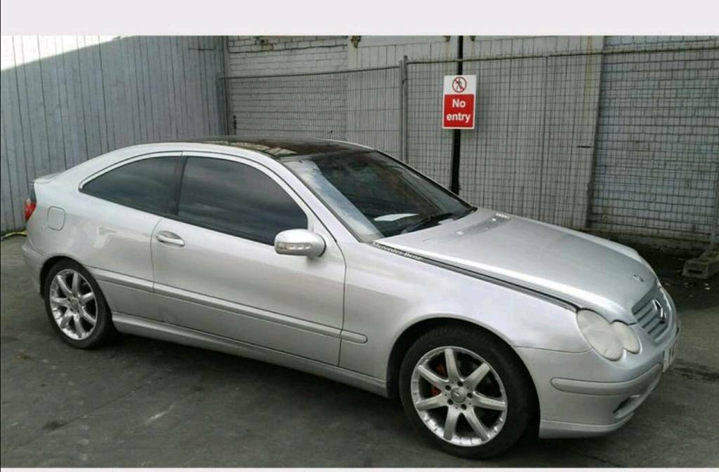 2001 Mercedes Benz C Class 180 Coupe Sport Automatic | in Dartford, Kent |  Gumtree