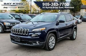 2016 Jeep Cherokee NORTH, REAR CAM, HTD SEAT, BLUETOOTH, REMOTE