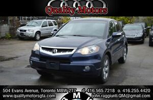 2007 Acura RDX Base w/Technology Package navigation