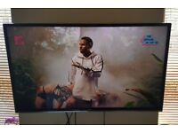 "TV JVC, 40"" SMART FULL HD & ADJUSTABLE WALL BRACKET"