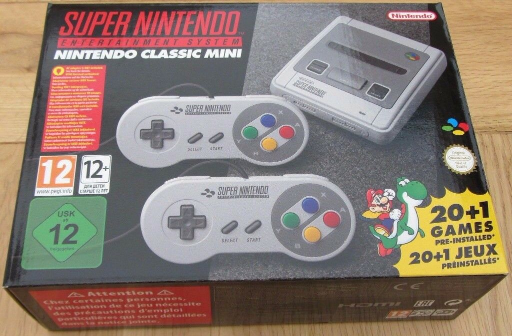 SNES MINI BRAND NEW UNOPENED