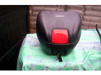 motorcycle or scooter rear top box