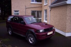 Mitsubishi Challenger Jeep in good condition for year