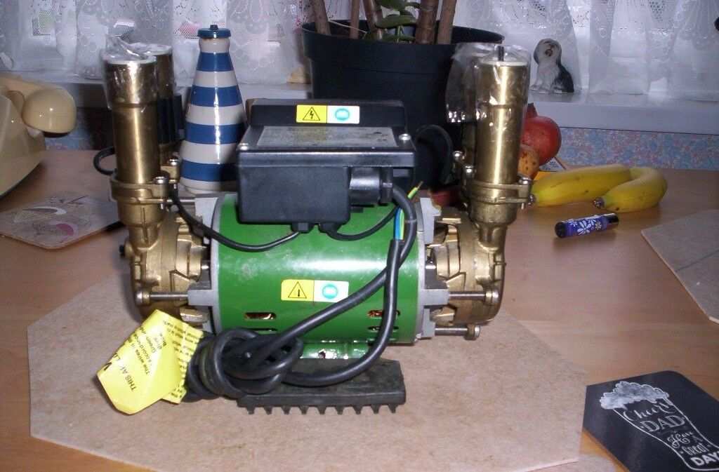 a shower pump stuart turner used