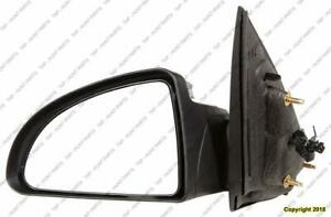 Door Mirror Power Driver Side Sedan Chevrolet Cobalt 2005-2010