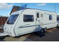 Sterling elite searcher fixed bed caravan 4-berth 2005