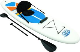 11ft inflatable sup/kayak package
