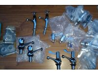 VARIOUS BATH, SINK & BATHROOM TAPS | All Paired | Some Washers Inc.