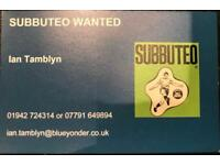 SUBBUTEO TEAMS WANTED : 60's onwards