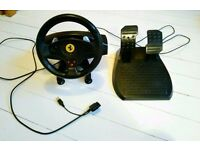 Playstation/ PC Racing Wheel and pedals