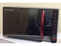 Russell Hobbs microwave Red & Black