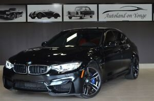 2017 BMW M3 - MANUAL TRANSMISSION/RED LEATHER/NAVIGATION
