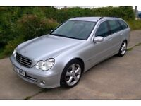 2007 Mercedes Benz C180 Kompressor SE Estate.