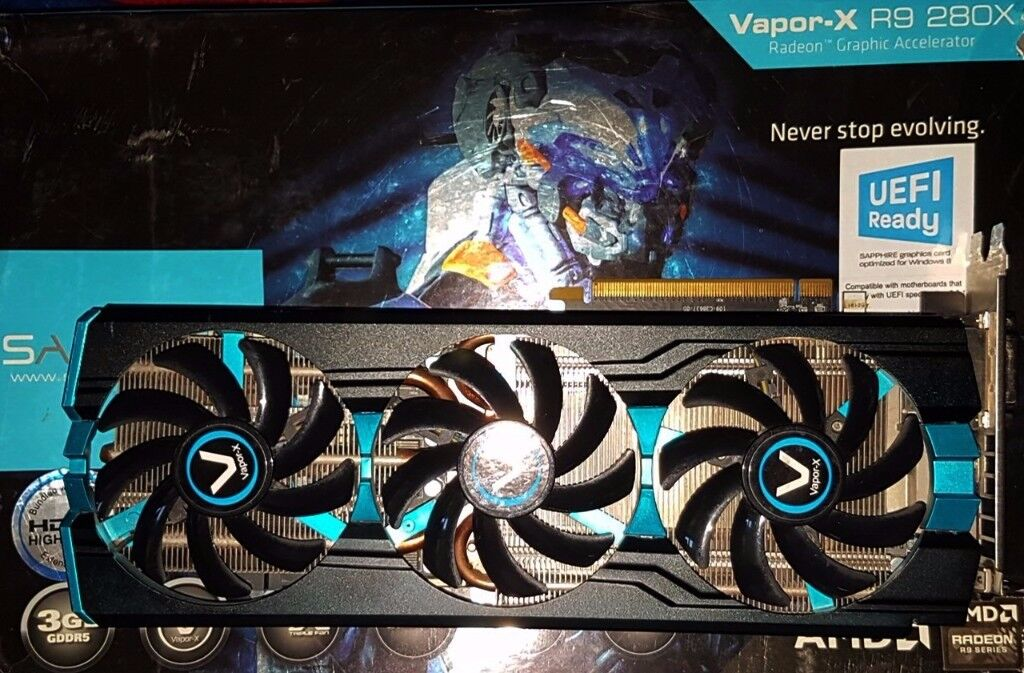 AMD Radeon R9 280X 3GB Graphics Card | in Oldham, Manchester