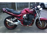 Suzuki 1200 bandit great bike don't use it enough