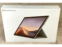 "MICROSOFT SURFACE PRO 7, 12.3"" 2 in 1 TABLET/LAPTOP BRAND NEW SEALED BOX 1 YEAR WARRANTY rrp £799"