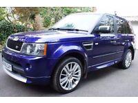 2010 (60) Range Rover Sport HSE Bali Blue Lux Pack 55,000 Miles, 3.0