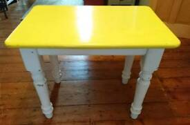 Upcycled shabby chic table and chair