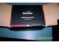 Binatone sat nav in as new condition with accessories