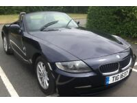 BMW Z4 CONVERTIBLE/12 MONTHS MOT/ PRIVATE REG